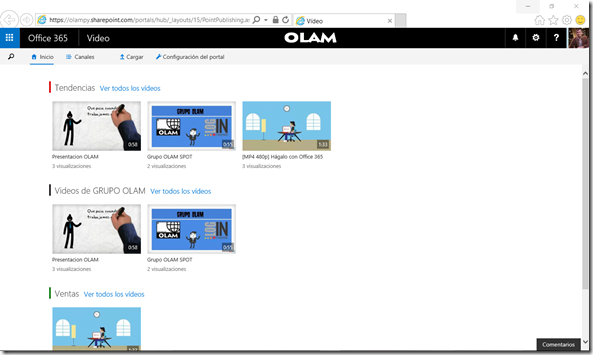 Que es Office 365 Video?